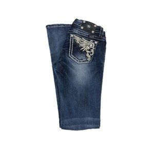 Miss Me Mid Rise Bootcut Jeans, Size 28